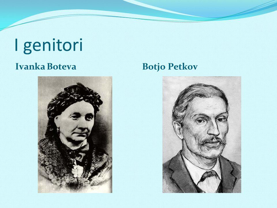 I genitori Ivanka Boteva Botjo Petkov