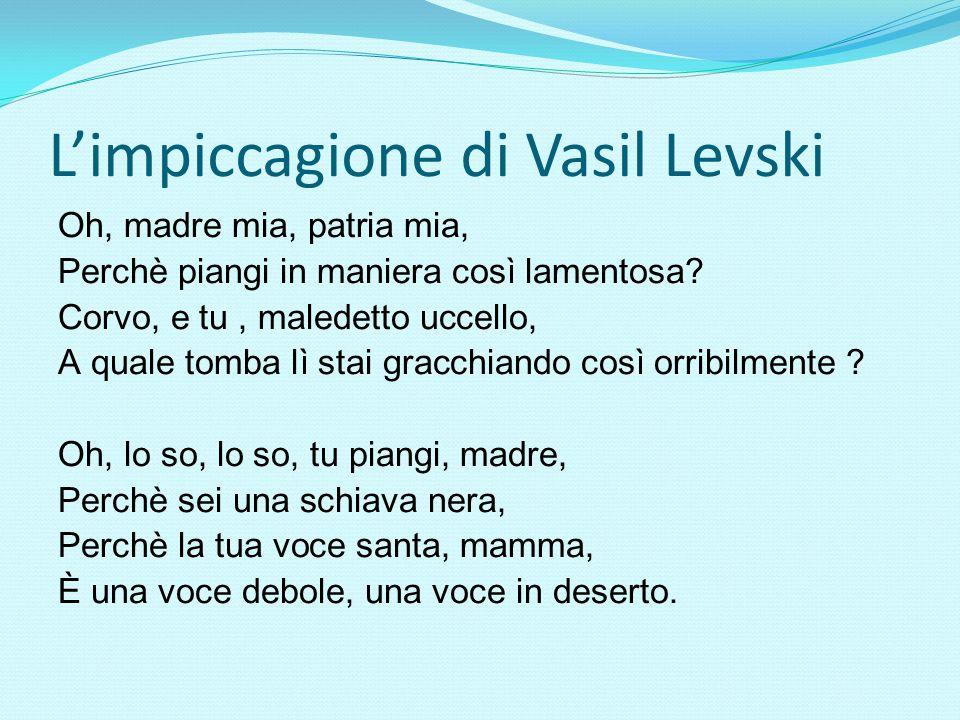 L'impiccagione di Vasil Levski