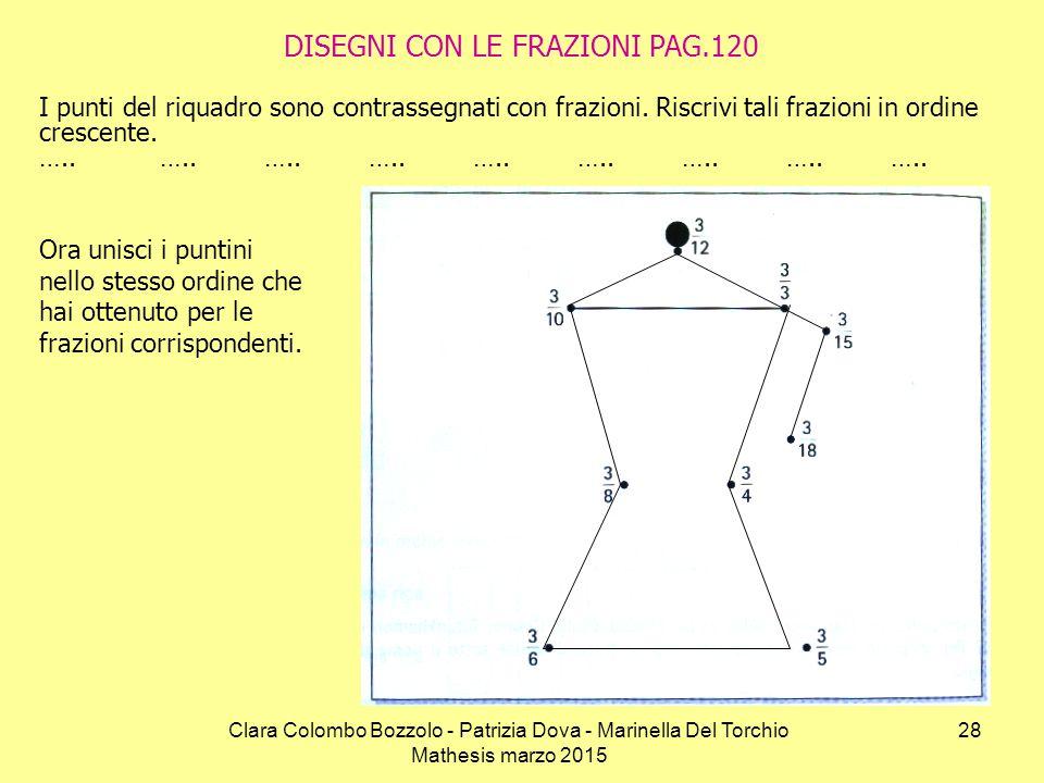 DISEGNI CON LE FRAZIONI PAG.120