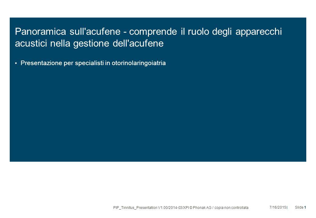 Panoramica sull acufene - comprende il ruolo degli apparecchi acustici nella gestione dell acufene