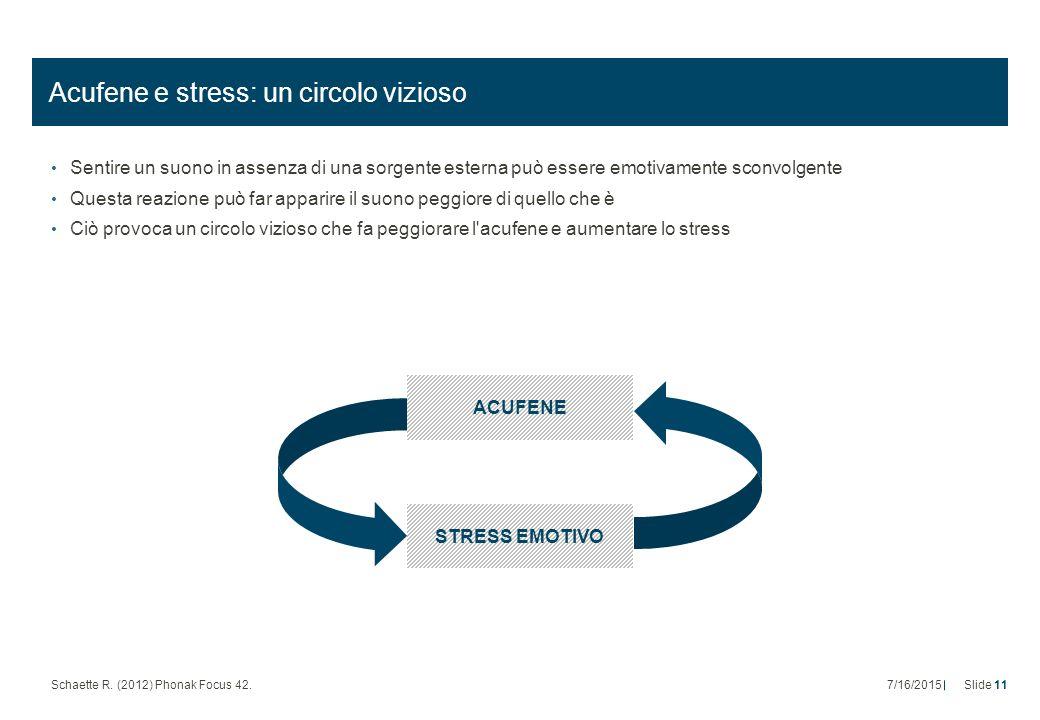 Acufene e stress: un circolo vizioso