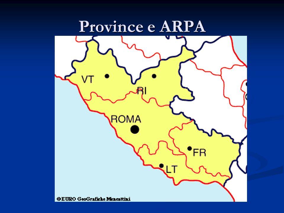Province e ARPA