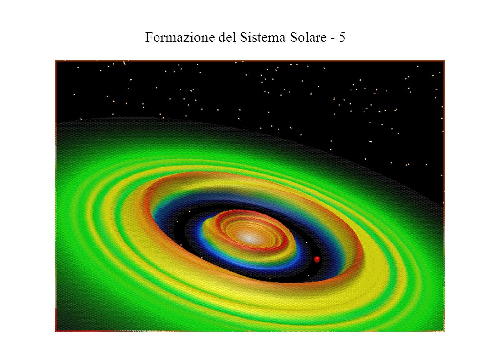 Formazione del Sistema Solare - 5