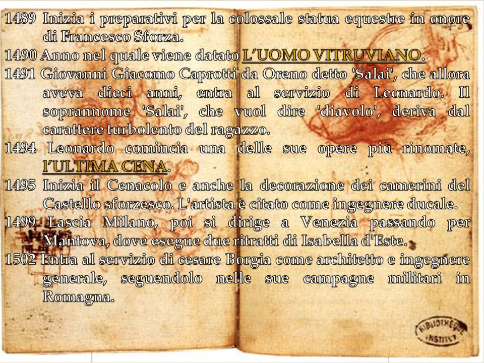 Inizia i preparativi per la colossale statua equestre in onore di Francesco Sforza.