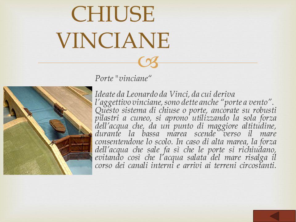 CHIUSE VINCIANE