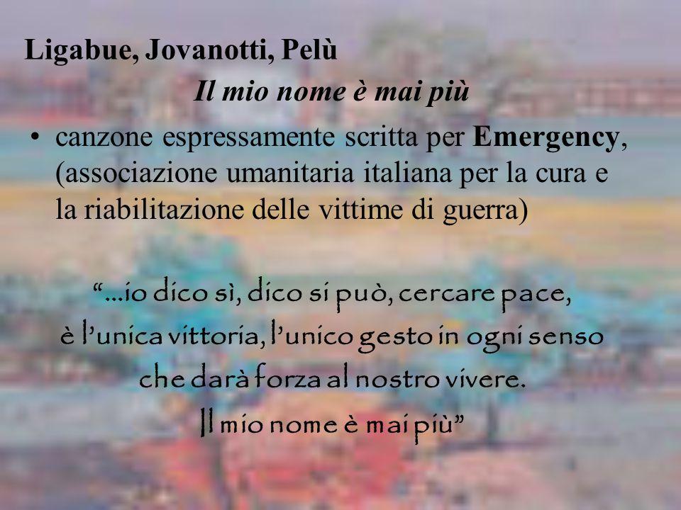 Ligabue, Jovanotti, Pelù
