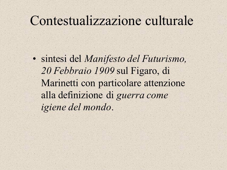 Contestualizzazione culturale