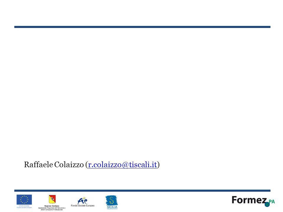 Raffaele Colaizzo (r.colaizzo@tiscali.it)