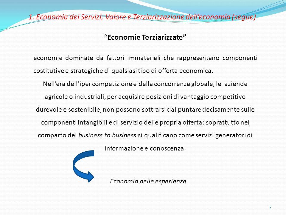 Economie Terziarizzate