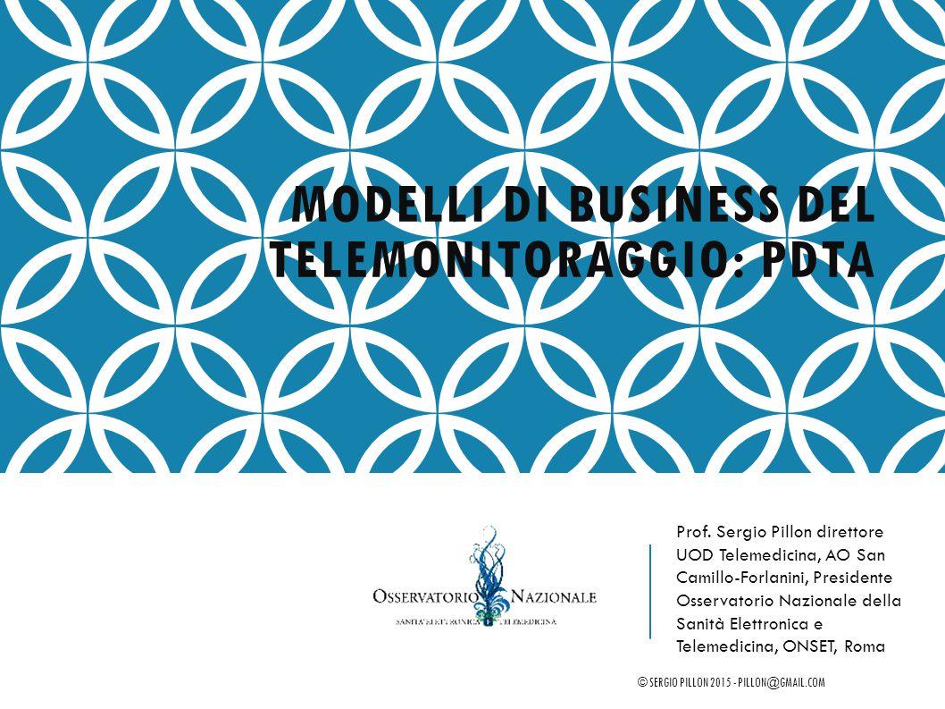 Modelli di business del telemonitoraggio: PDTA