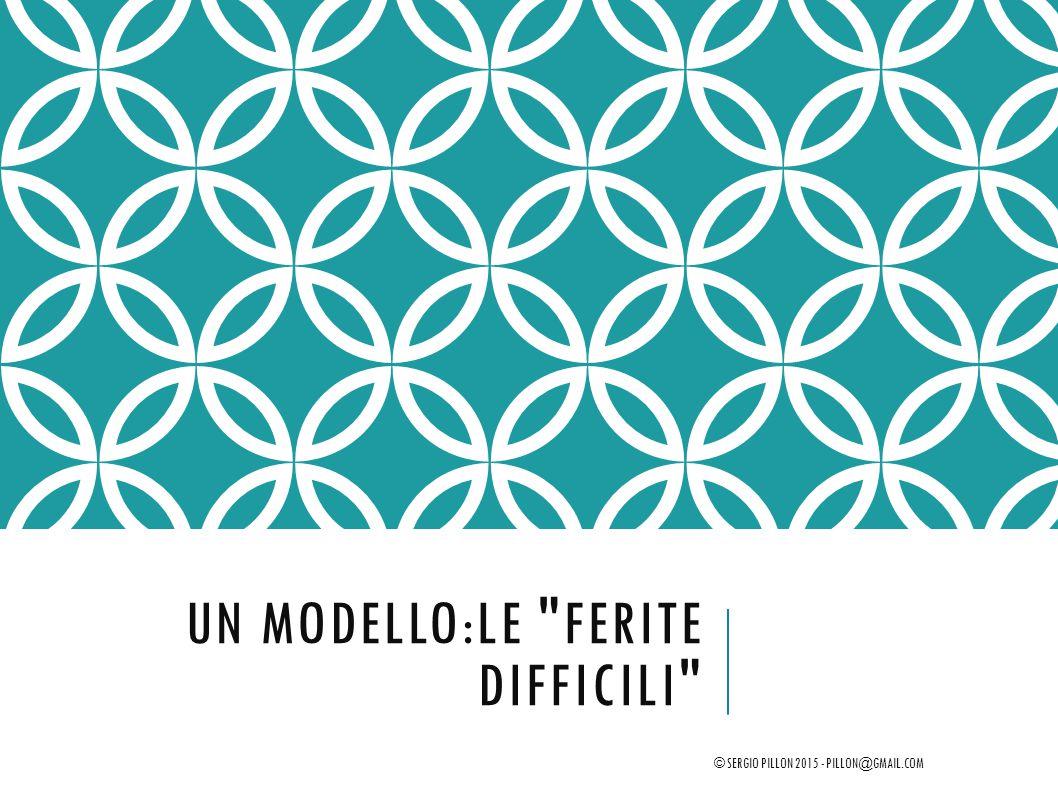 Un modello:le Ferite Difficili