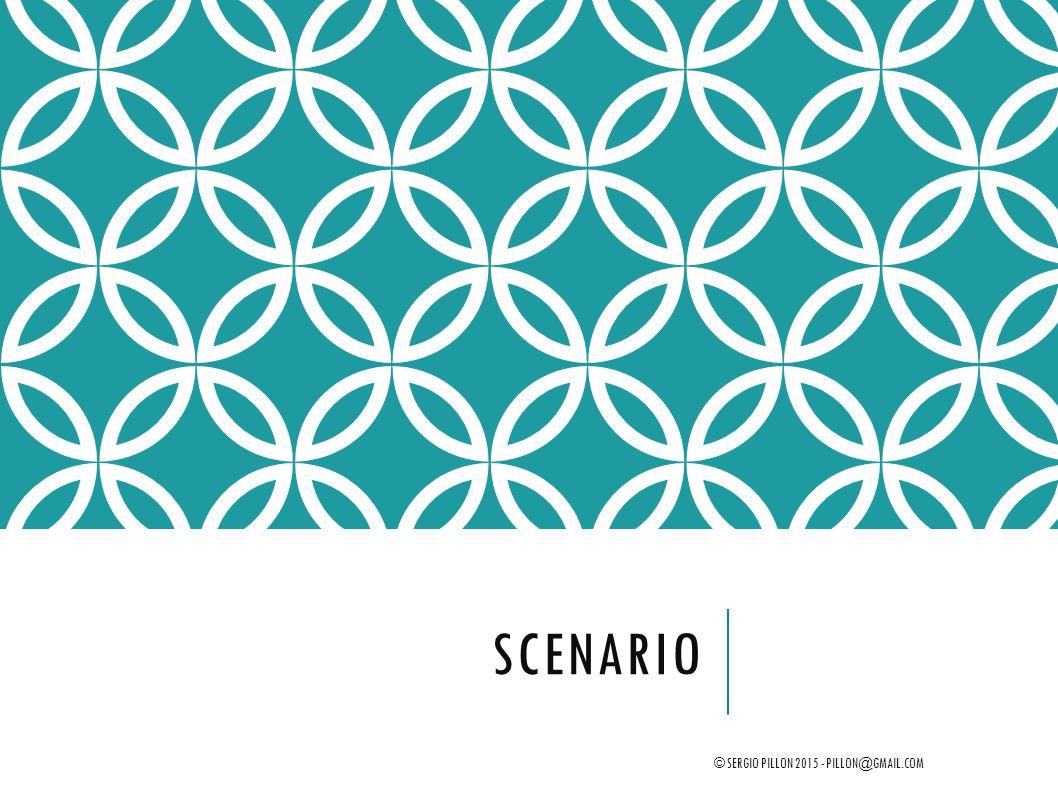 Scenario © Sergio Pillon 2015 - pillon@gmail.com