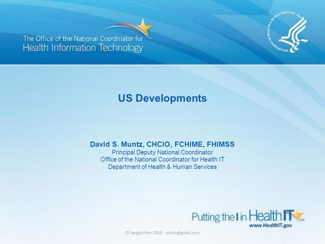 David S. Muntz, CHCIO, FCHIME, FHIMSS