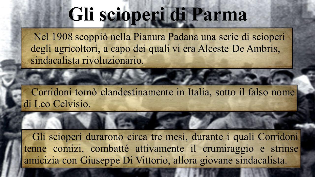 Gli scioperi di Parma