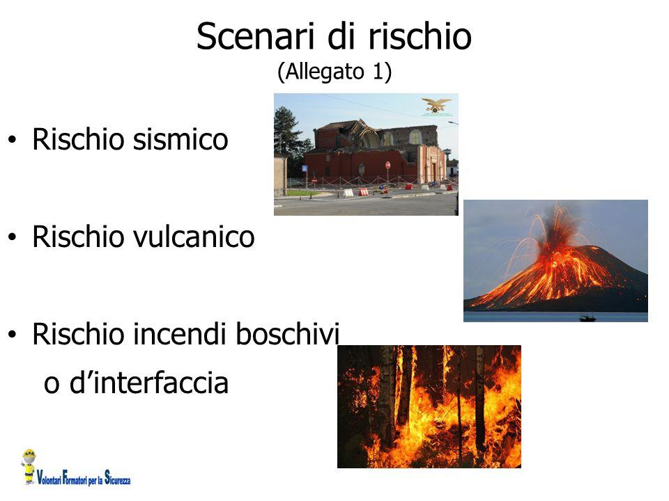 Scenari di rischio (Allegato 1)