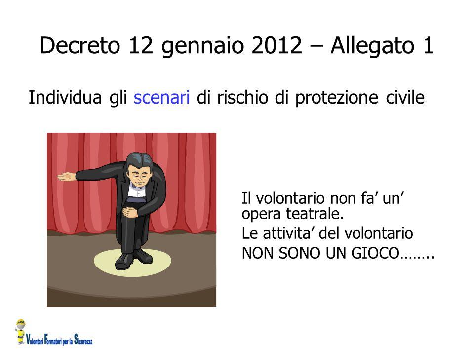 Decreto 12 gennaio 2012 – Allegato 1
