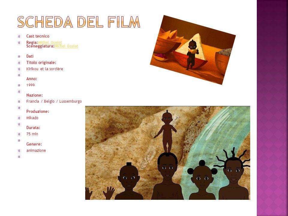 Scheda del film Cast tecnico