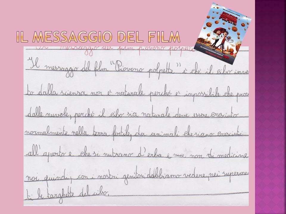 IL MESSAGGIO DEL FILM