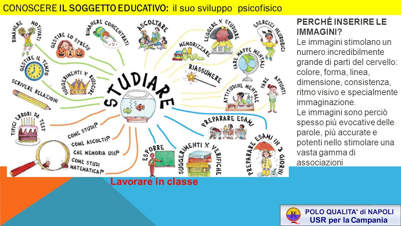 CONOSCERE IL SOGGETTO EDUCATIVO: il suo sviluppo psicofisico