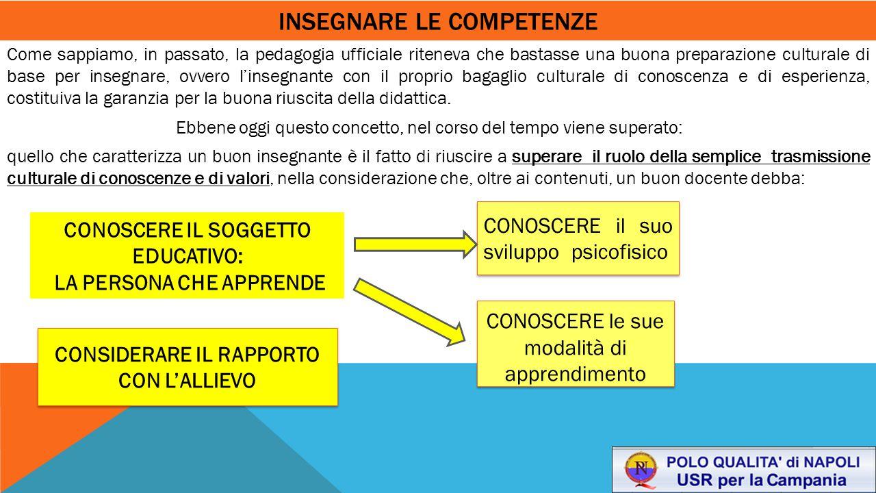 insegnare le competenze