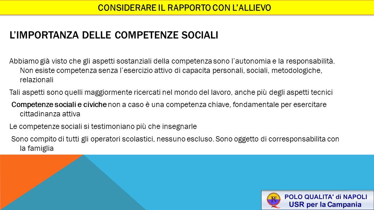 L'importanza delle competenze sociali
