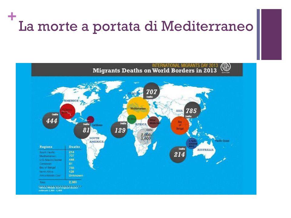 La morte a portata di Mediterraneo