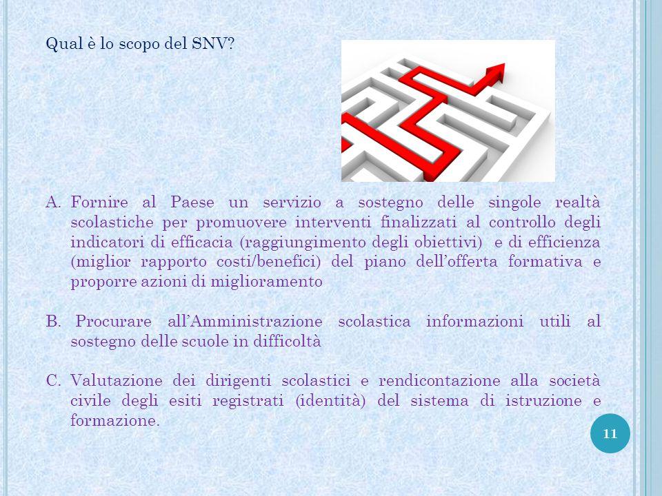 Qual è lo scopo del SNV
