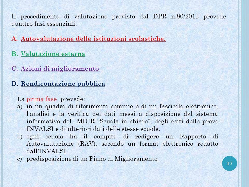 Il procedimento di valutazione previsto dal DPR n