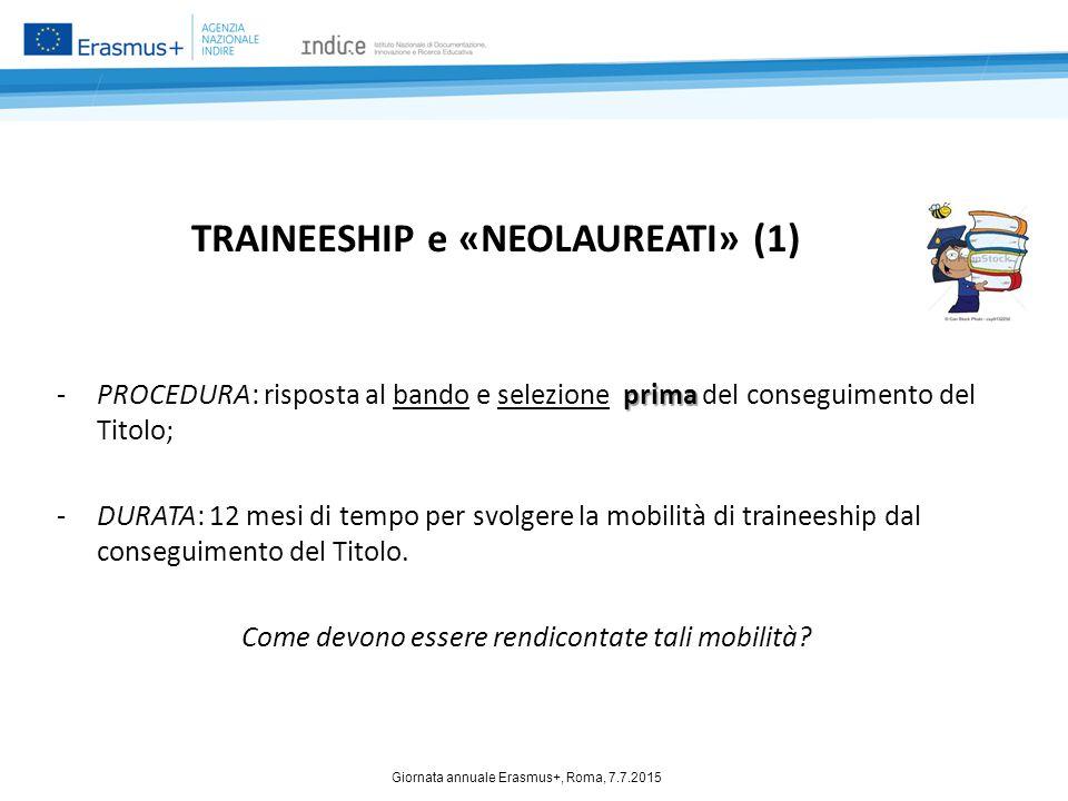 TRAINEESHIP e «NEOLAUREATI» (1)