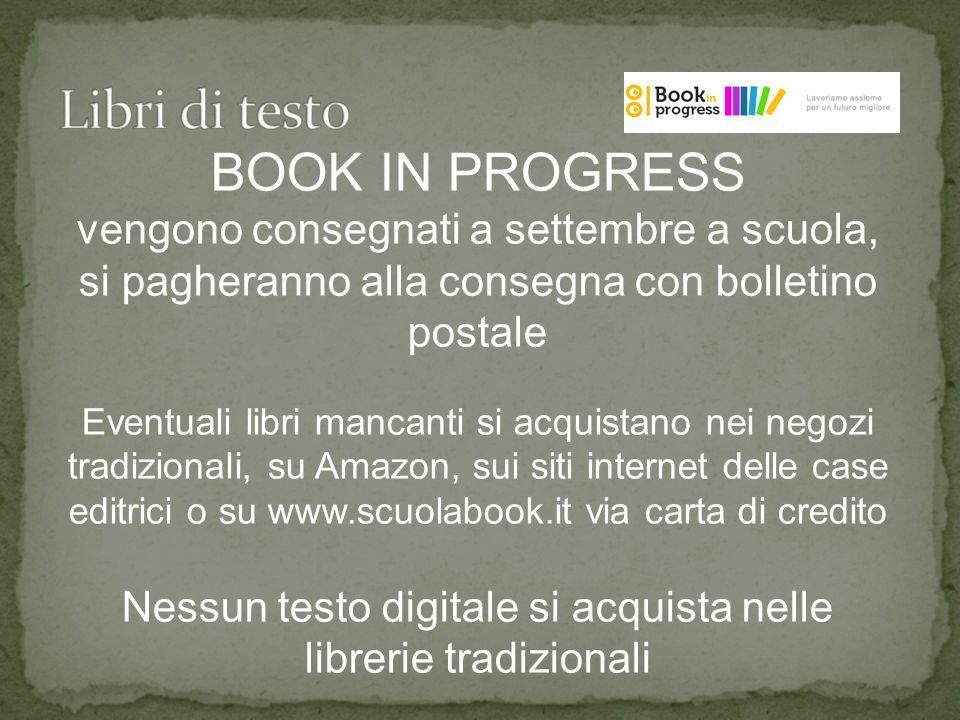 Nessun testo digitale si acquista nelle librerie tradizionali