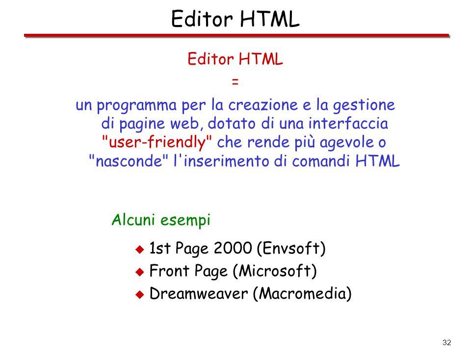 Editor HTML Editor HTML =