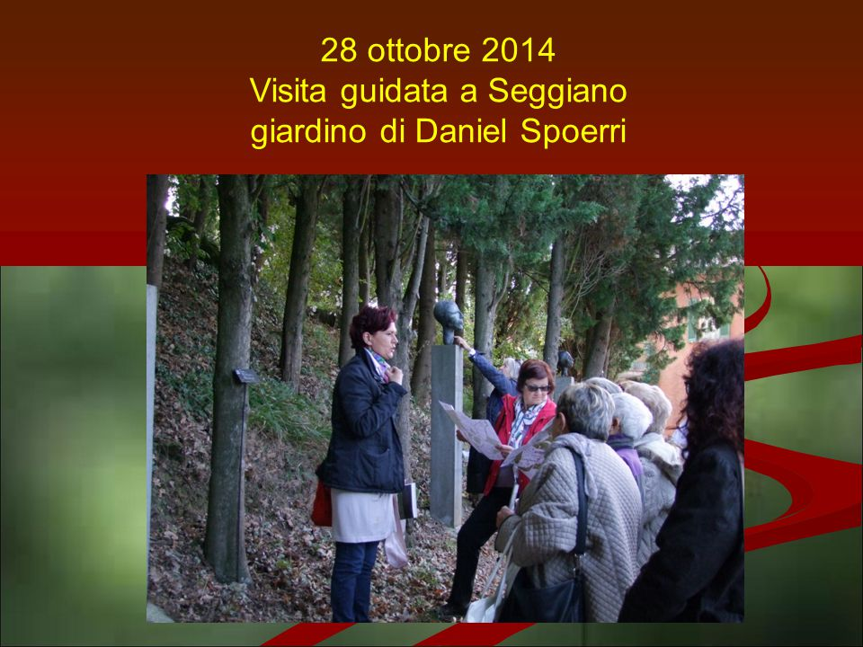 Visita guidata a Seggiano giardino di Daniel Spoerri