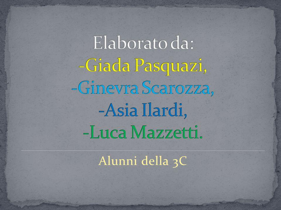 Elaborato da: -Giada Pasquazi, -Ginevra Scarozza, -Asia Ilardi, -Luca Mazzetti.