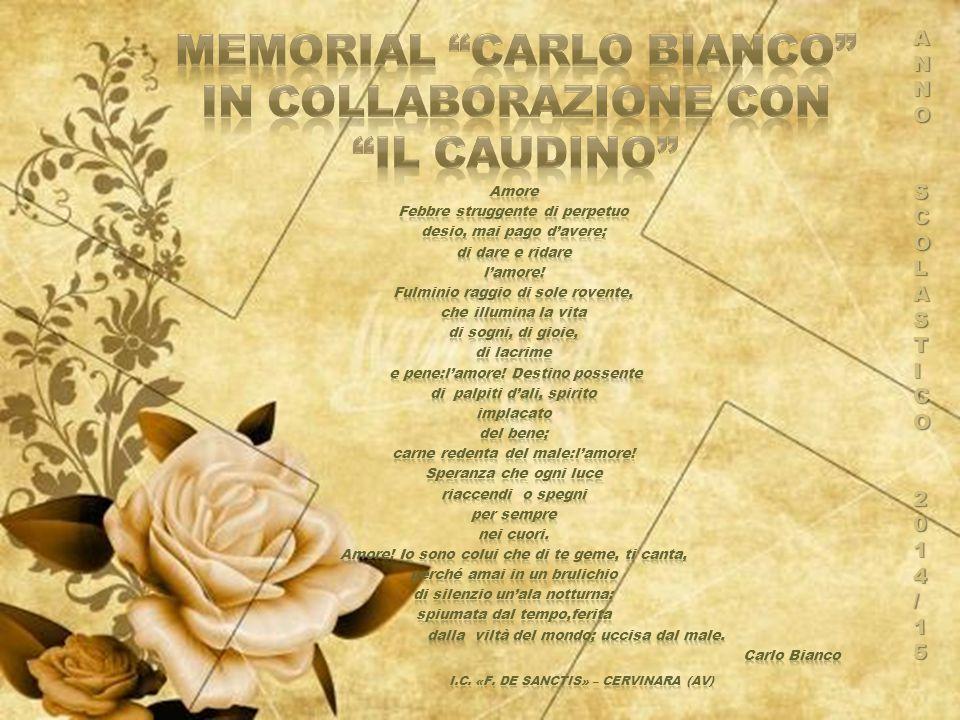 Memorial Carlo Bianco In collaborazione con Il Caudino