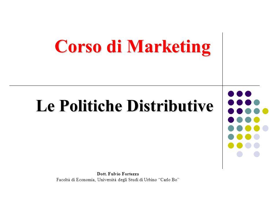 Le Politiche Distributive