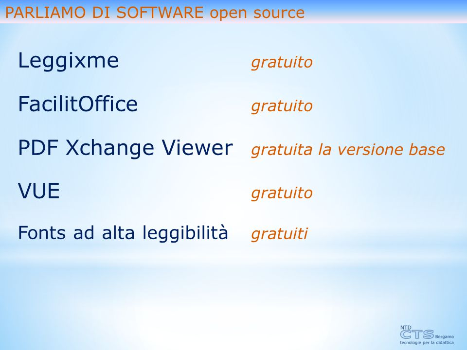 FacilitOffice gratuito PDF Xchange Viewer gratuita la versione base