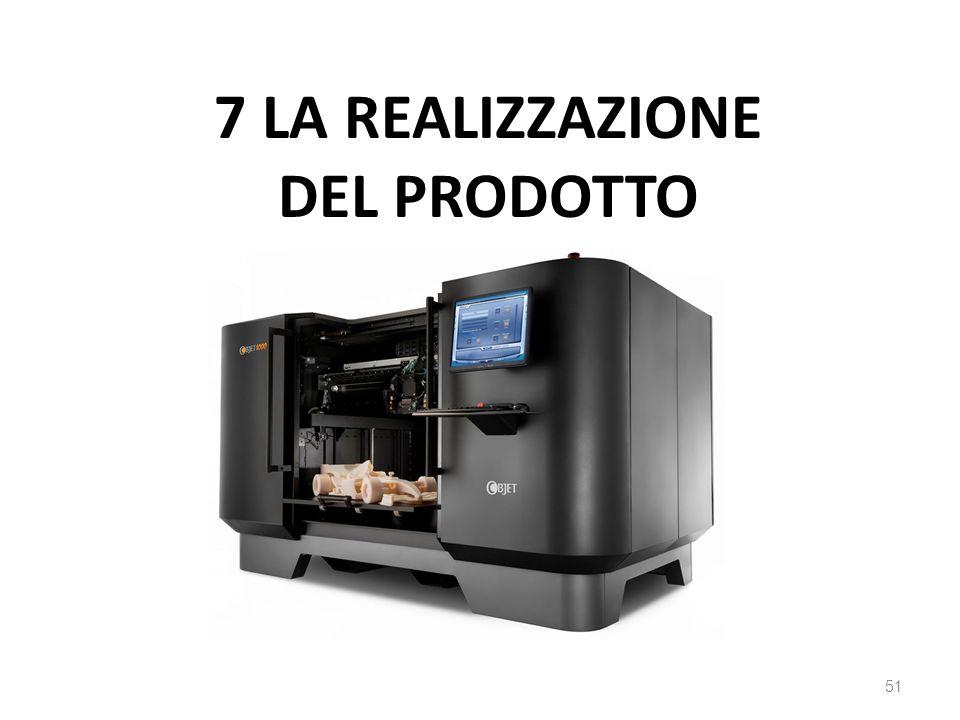 7 la realizzazione del prodotto