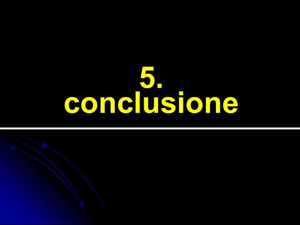 5. conclusione