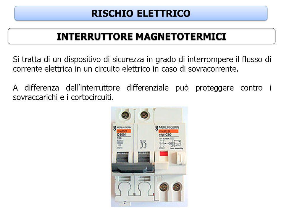 INTERRUTTORE MAGNETOTERMICI