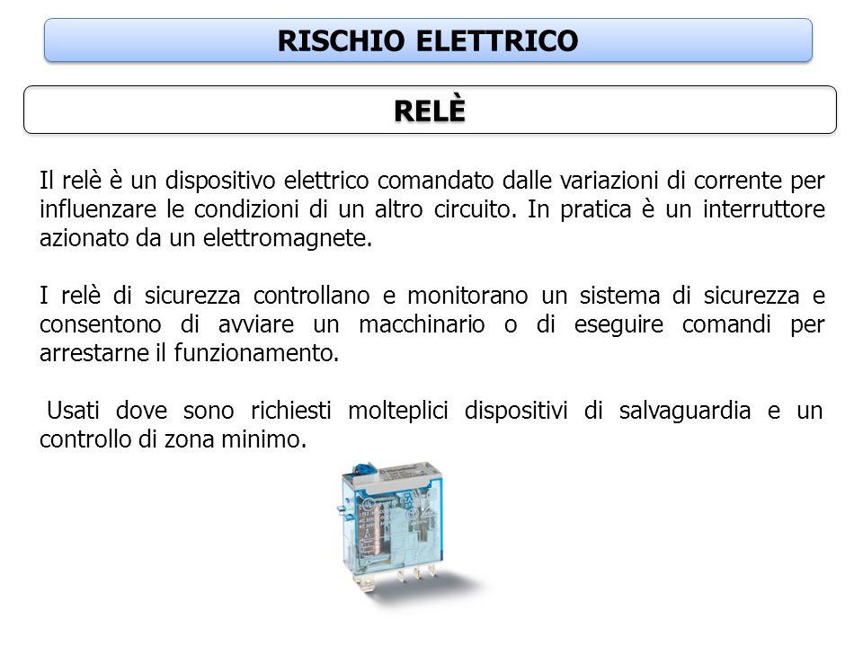 RISCHIO ELETTRICO RELÈ