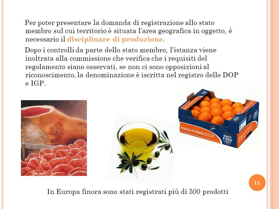 In Europa finora sono stati registrati più di 500 prodotti