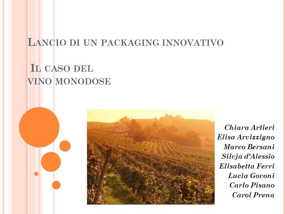Lancio di un packaging innovativo Il caso del vino monodose