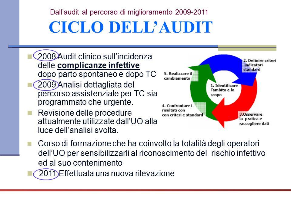 Dall'audit al percorso di miglioramento 2009-2011