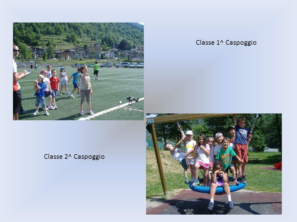 Classe 1^ Caspoggio Classe 2^ Caspoggio