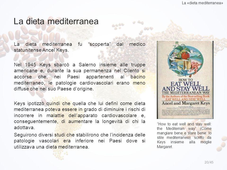 La «dieta mediterranea»