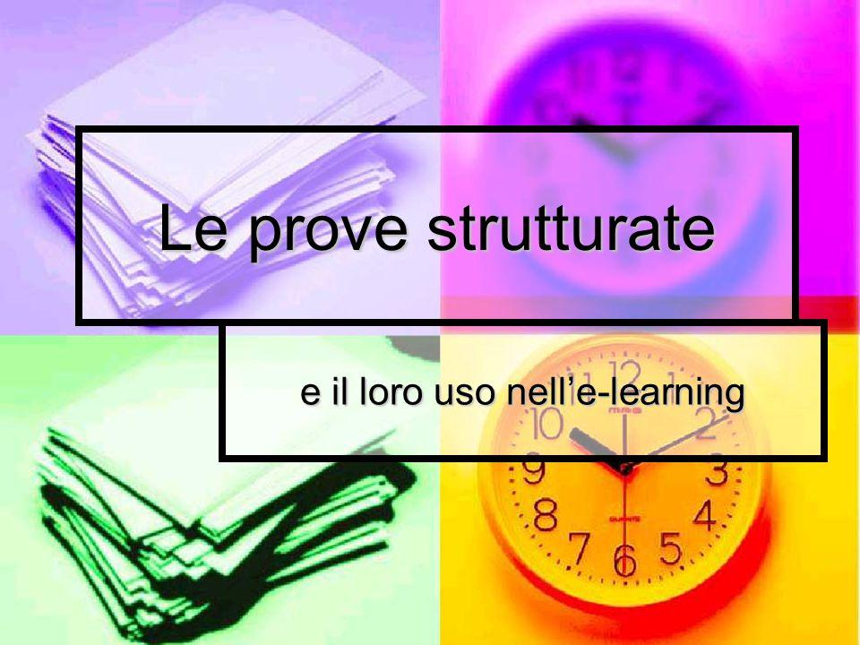 e il loro uso nell'e-learning