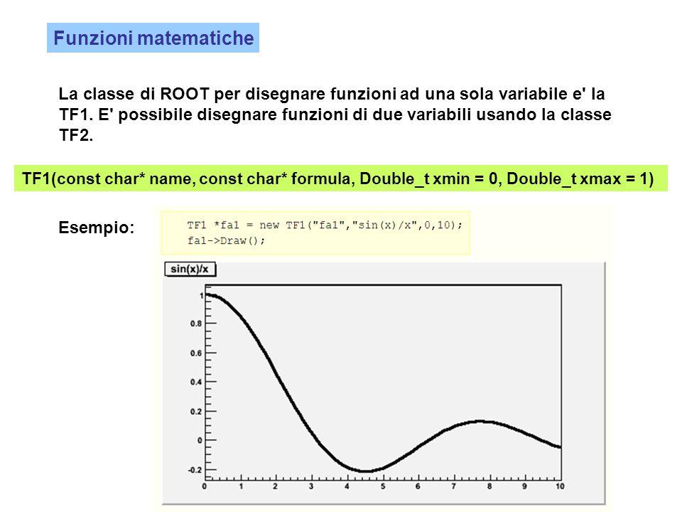 Funzioni matematiche