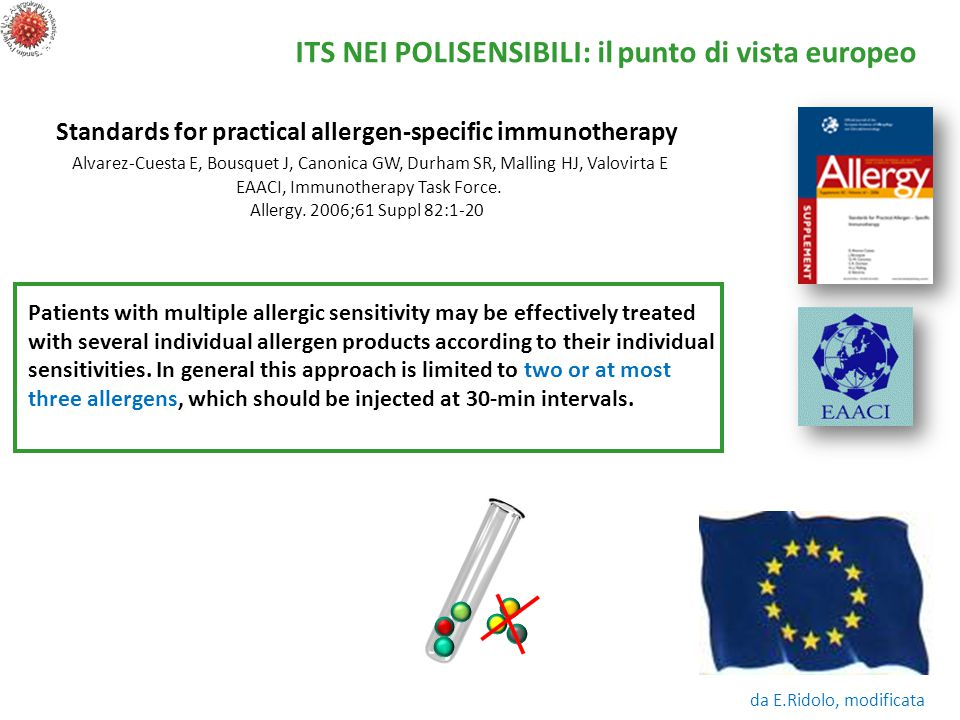 Standards for practical allergen-specific immunotherapy