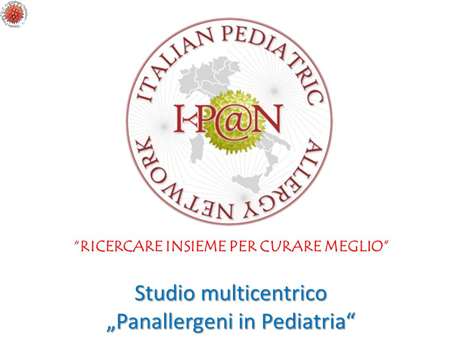"""Panallergeni in Pediatria"