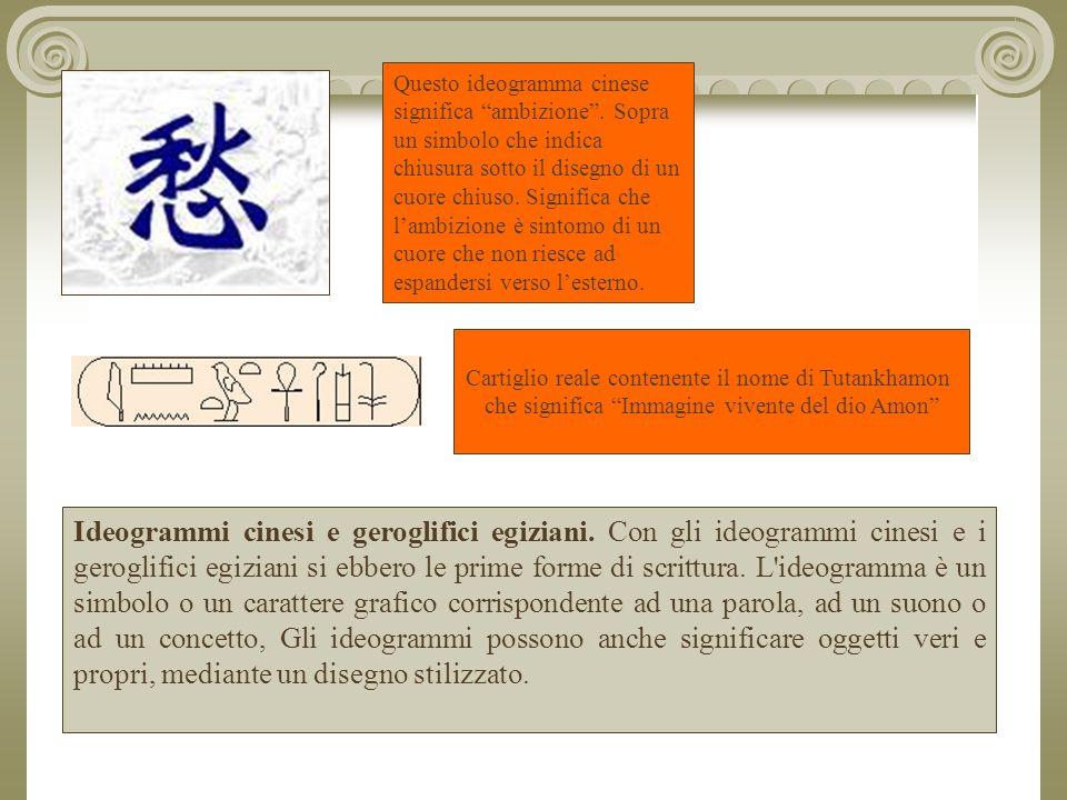 Questo ideogramma cinese significa ambizione